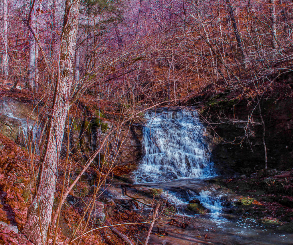 Hemmed-In-Hollow Falls, Arkansas, hike, Kirk Lubimov